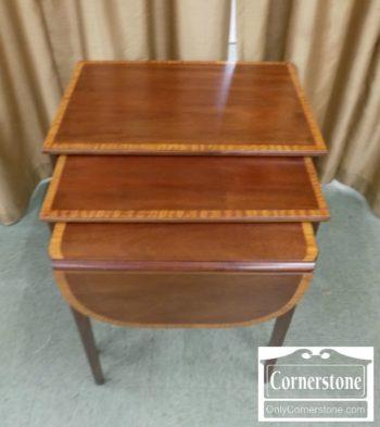 5321-43 - Mahogany Nesting Tables