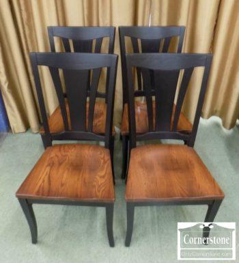 5405-7 - Set of 4 Zimmerman Solid Oak Chairs