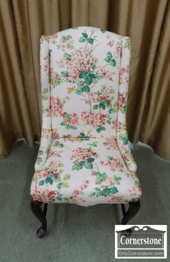 5476-130 - Floral Upholstered Chair