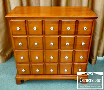 5665-67 Solid Maple Apothecary Style Chest