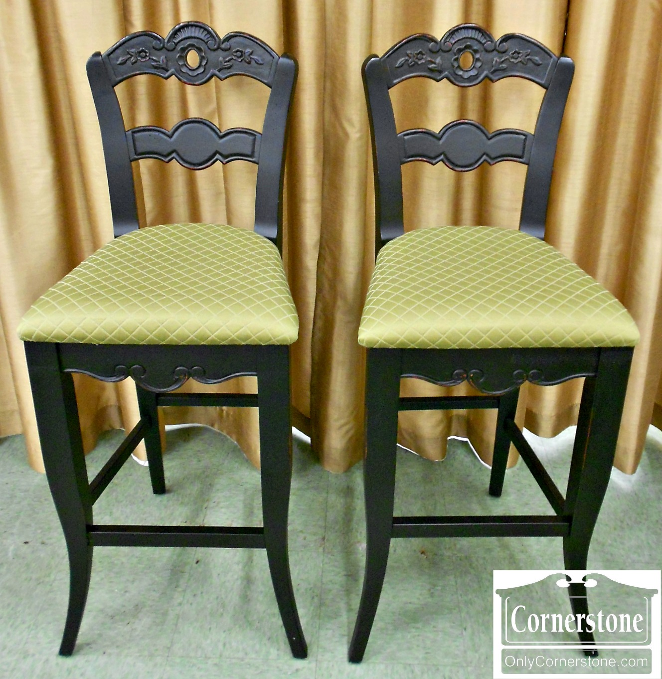 5666-404 Pair of Counter Stools