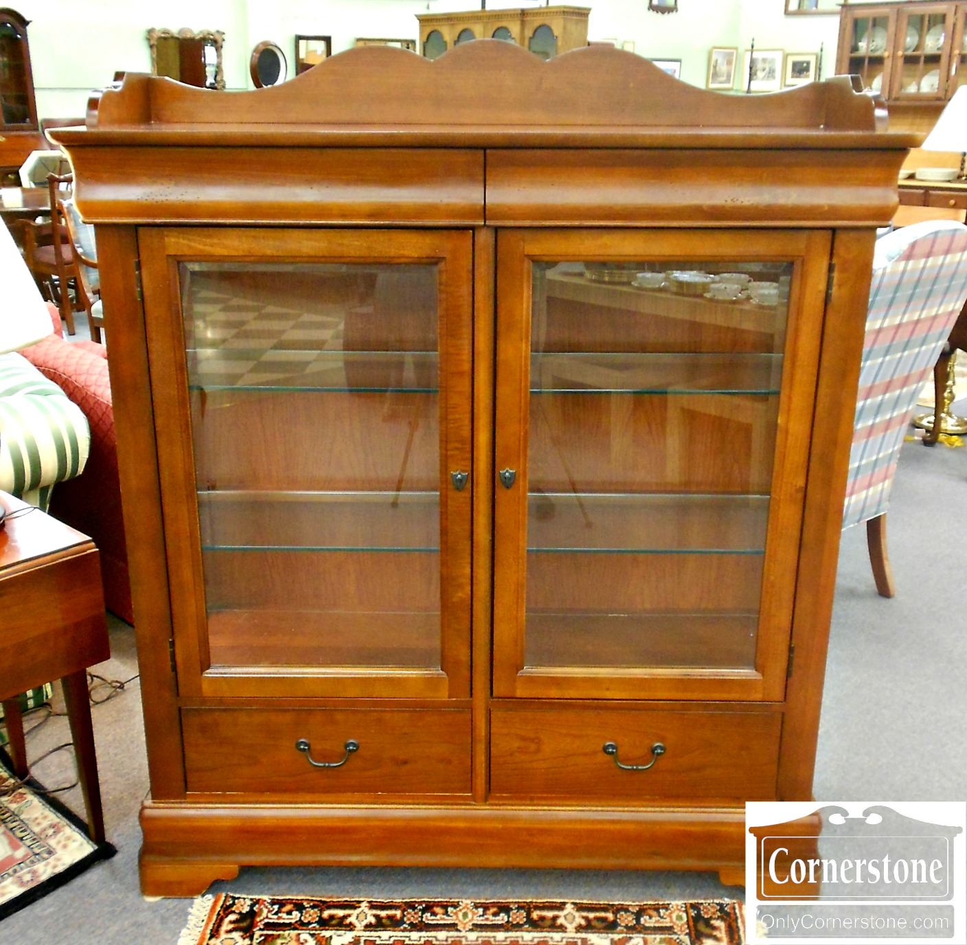 5666-455 Basset Casual Cabinet