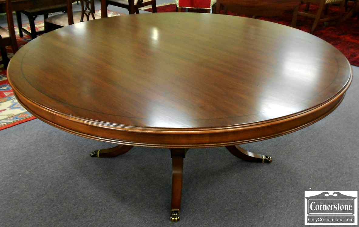 5666-463 6 Foot Round Pedestal Table