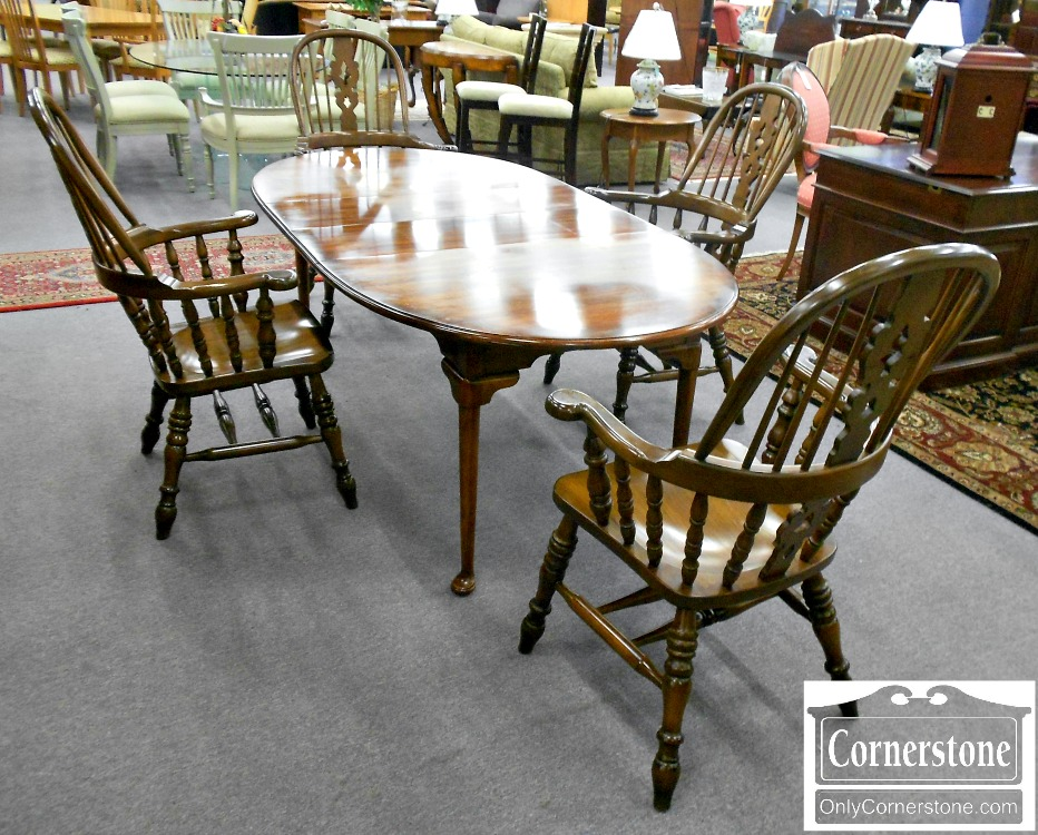 5666-464 Set of 4 Windsor Chairs