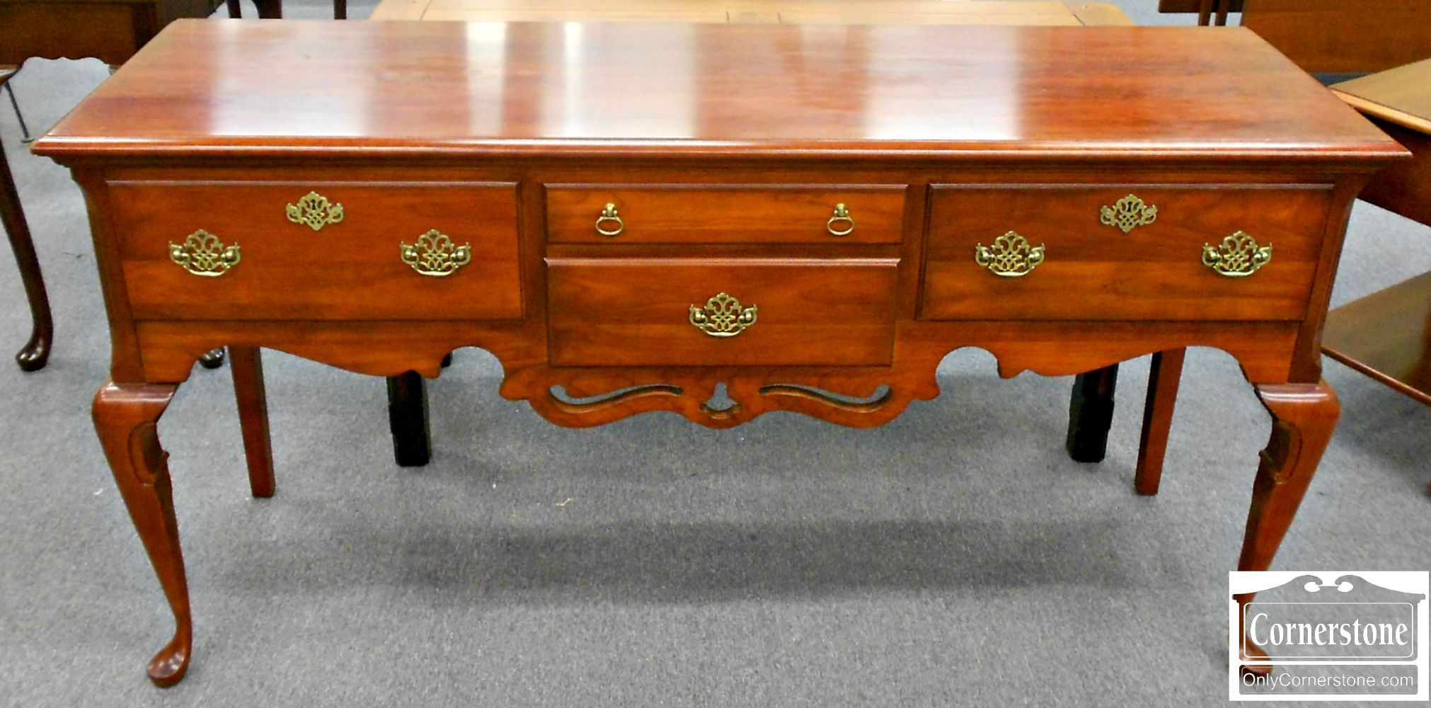 5670-530 PA House Solid Cherry Queen Anne Huntboard Sideboard