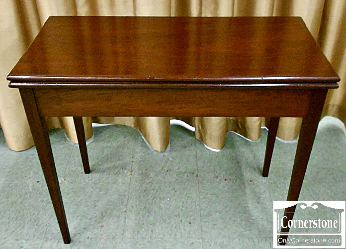 5670-616 Antique Mahogany Hepplewhite Game Table