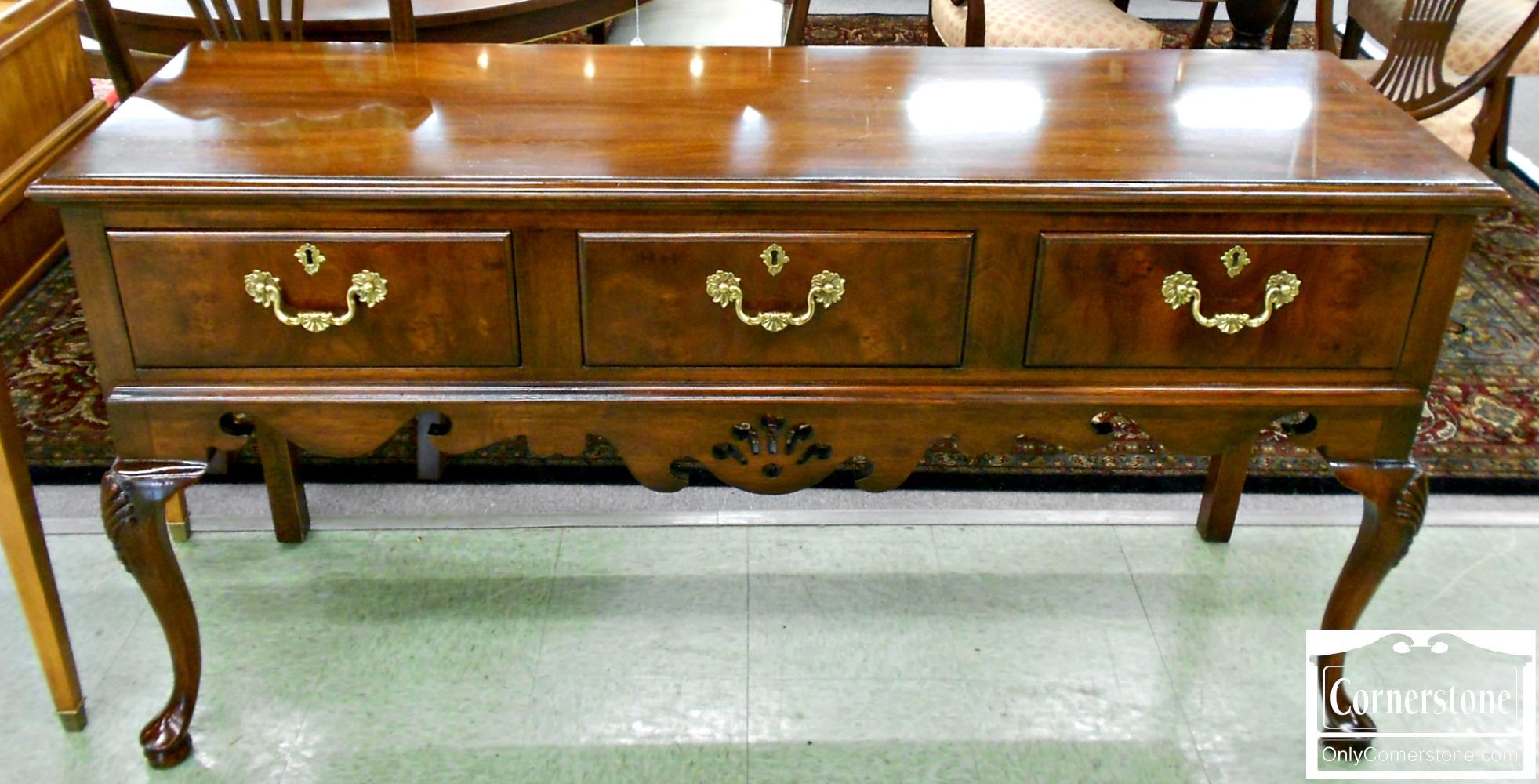 5670-656 Mahogany 3 Drawer Sideboard
