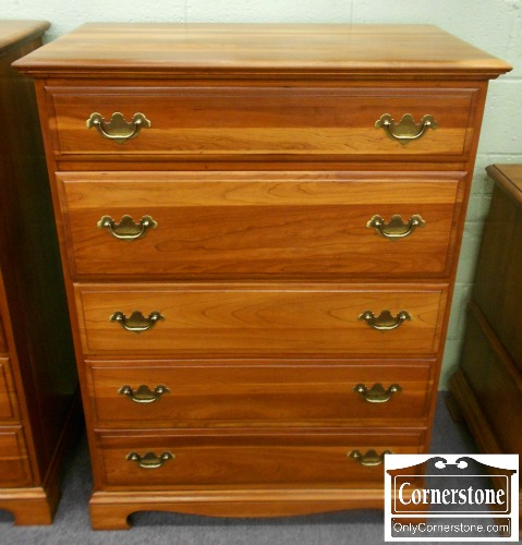 5670-664 Solid Cherry Tall Chest