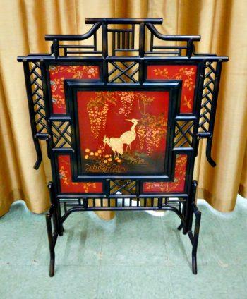 5834-9 - Fire Screen - Bamboo Look