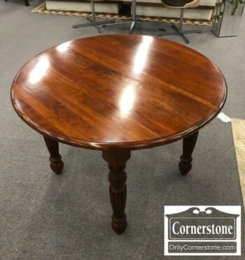 5835-8 - Solid Cherry Round Table