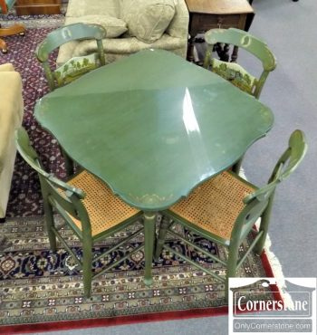 5850-38 Hitchcock Table and 4 Chairs