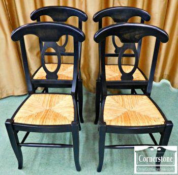 5903-3-set-of-4-pottery-barn-black-and-rush-seat-dining-side-chairs
