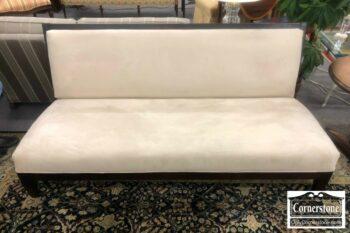 5958-3 - Room & Board Armless Microfiber Sofa