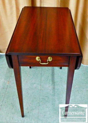 5960-119 Henkel Harris Mahogany Pembroke Table