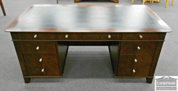 5960-150 Sligh Mahogany Executive Desk