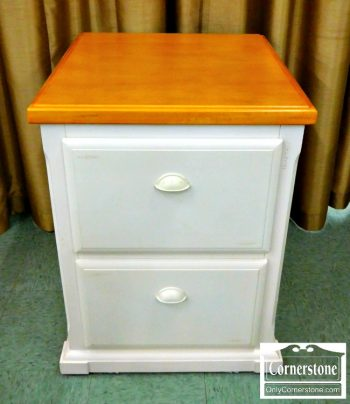 5960-211 Kathy Ireland White File Cabinet