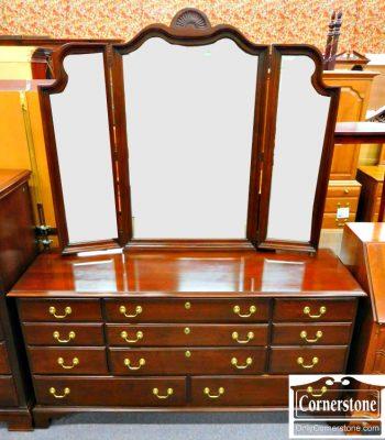 5960-275 Harden Solid Cherry Dresser with Mirror