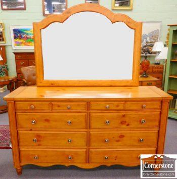 5960-318 Aspen Home Pine Dresser with Mirror
