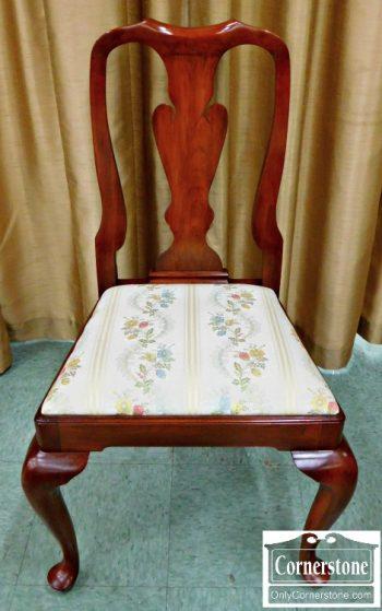 5960-348 Henkel Harris Solid Cherry Queen Anne Dining Chair