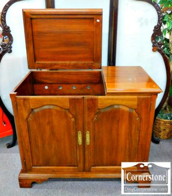 5960-360 Kling Solid Cherry Bar Console-2