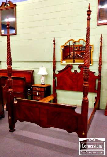 5960-408 Cherry Queen Poster Bed