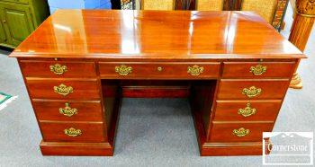 5960-420 Knob Creek Solid Cherry Executive Desk