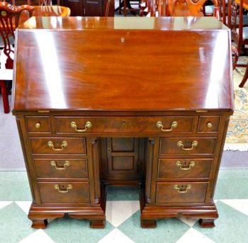 5960-433 Kittinger Solid Mahogany Slant Front Desk