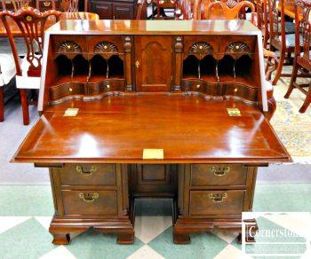 5960-433 Z Kittinger Solid Mahogany Slant Front Desk