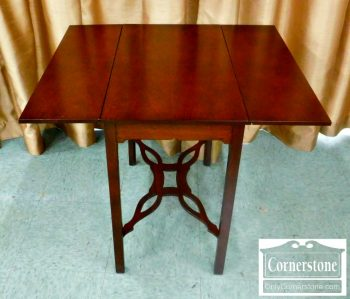 5960-434 Small Mahogany Pembroke End Table-2