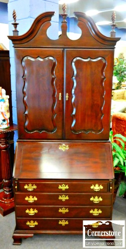 5960-441 Statton Solid Cherry Blind Door Secretary