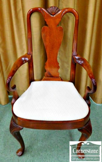 5960-443 Z Hickory Chair Mahogany Queen Anne Dining Chairs