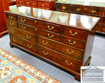 5960-483 Henkel Harris Solid Mahogany Dresser