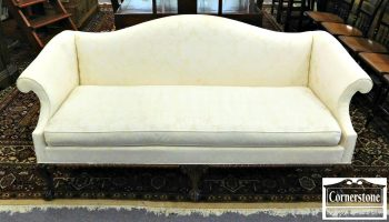 5960-525 Hickory Chair Upholstered Camelback Sofa