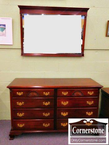 5960-544 Kling Mahogany Dresser with Mirror