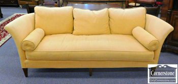5960-583 Royal Pale Yellow Upholstered Sofa