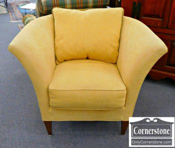 5960-584 Royal Pale Yellow Upholstered Occasional Chair
