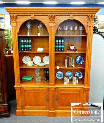 5960-597-ethan-allen-double-bookcase