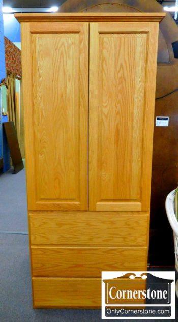 5960-621 Oak Wardrobe