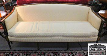 5960-645 Hickory Chair Martha Washington Off White Sofa