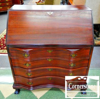 5960-692 Mahogany Governor Winthrop Slant Front Desk