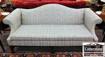 5960-704 Ethan Allen Camelback Sofa