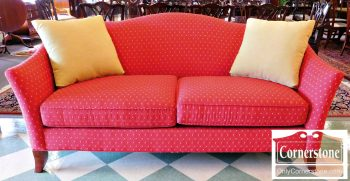 5960-750 Red Craftmaster Upholstered Sofa
