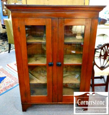 5960-753 2 Door Antique Bookcase
