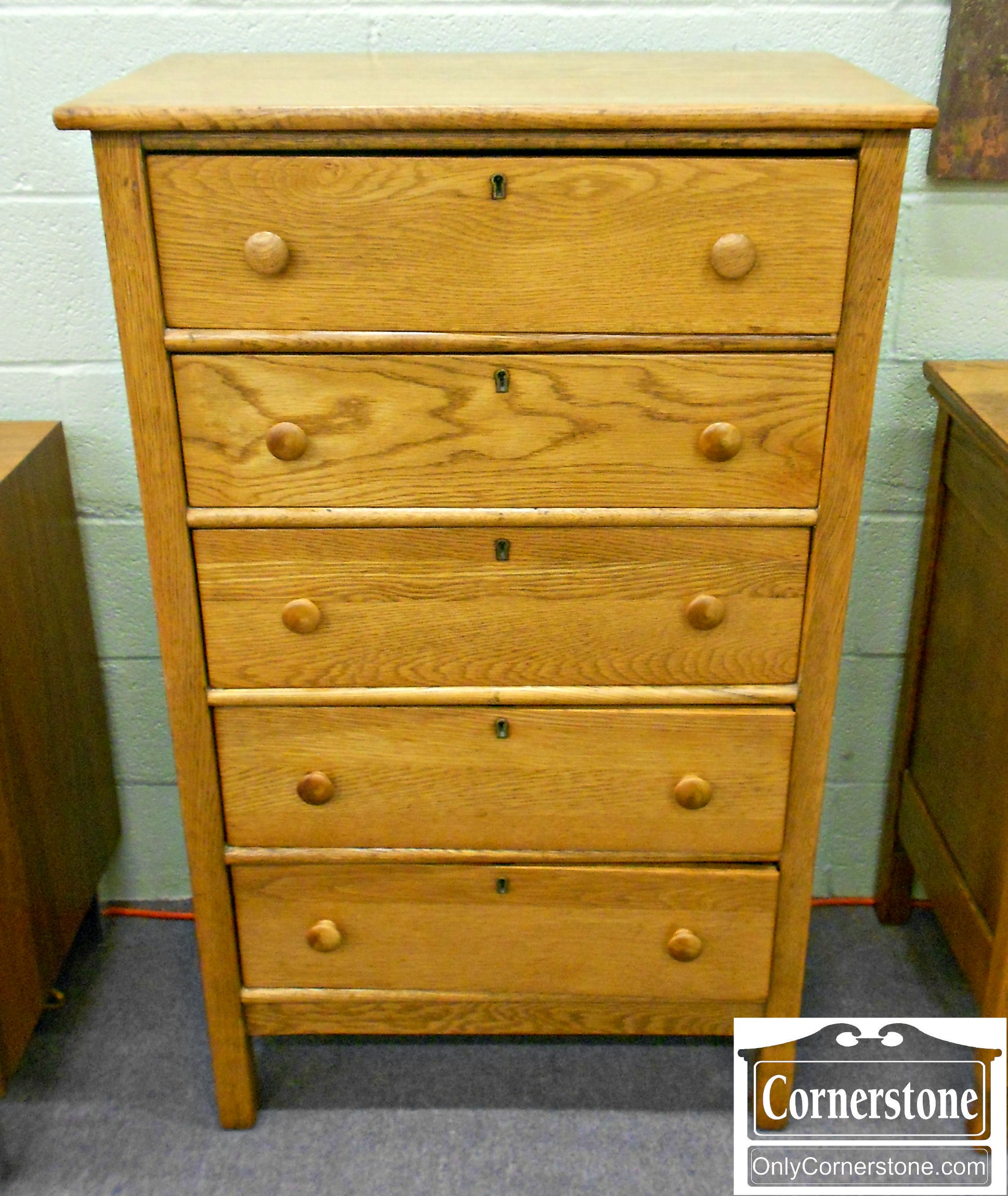 5960-80 Oak Lingerie Chest