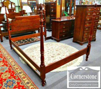 5960-802-cresent-solid-cherry-queen-size-poster-bed