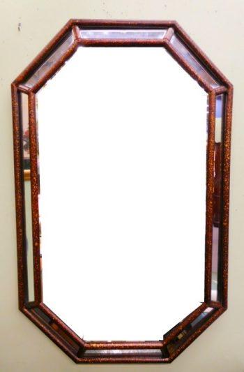 5960-824 Art Deco Beveled Mirror