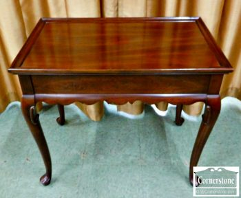 5960-864 - Ethan Allen Solid Cherry Tea Table