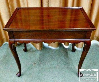 5960-864 - Ethan Allen Solid Cherry Tea Table