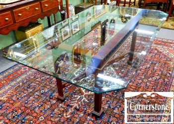 5960-985-pa-house-glass-top-dining-table-with-solid-cherry-chippendale-base