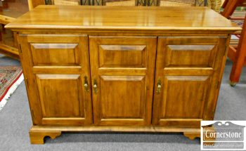 5965-111 Ethan Allen Solid Maple TV Console or Credenza